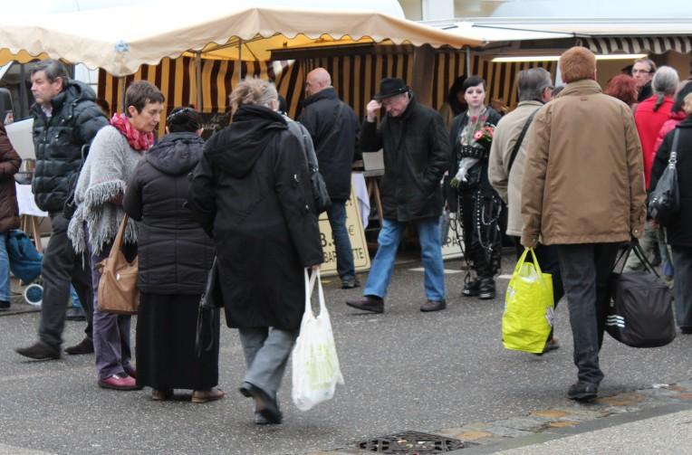 Le traditionnel marché brestois du dimanche, nest pas que traditionnel.