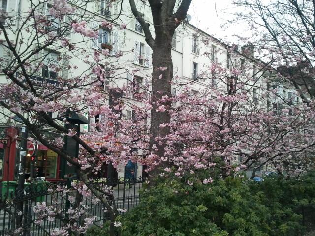 Le printemps se débat